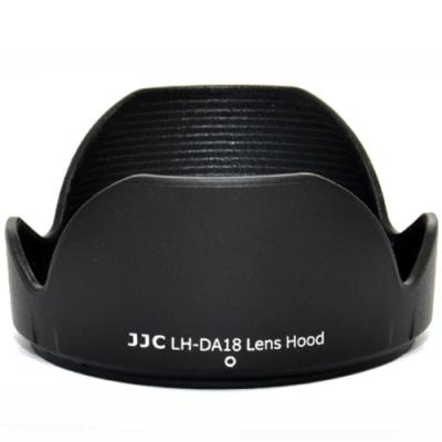 JJC Tamron副廠遮光罩LH-DA18(黑色蓮花)相容Tamron原廠DA18遮光罩