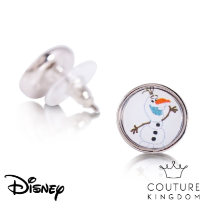 Disney Jewellery by Couture Kingdom冰雪奇緣雪寶錢幣耳釘