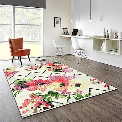 范登伯格 - SWING 進口仿羊毛地毯 - 綻放 (120 x 170cm)