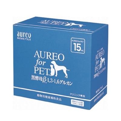 日本Aureo黑酵母(寵物用口服液) 450ml(15ml袋x30包)