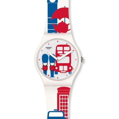 Swatch 原創系列手錶 11H30AM - 41mm