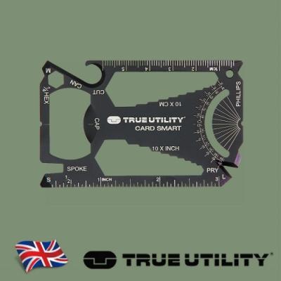 【TRUE UTILITY】英國多功能30合1聰明卡片工具CardSmart