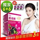 DV笛絲薇夢- 醇養妍(野櫻莓+維生素E)x6盒+醇萃皙飲(玻尿酸)x6盒