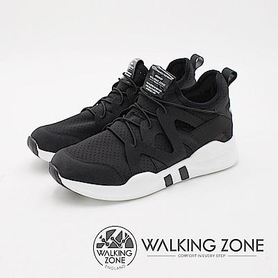 WALKING ZONE 運動慢跑休閒 女鞋-黑(另有白)