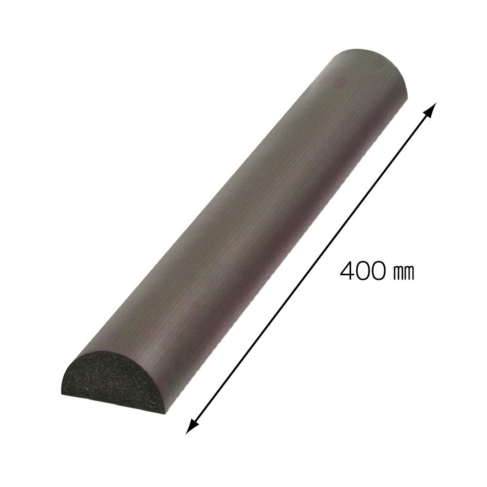 【日本CAR-BOY】半月型防護軟墊40cm(棕)(車庫/停車場/保護車門/吸收衝擊)