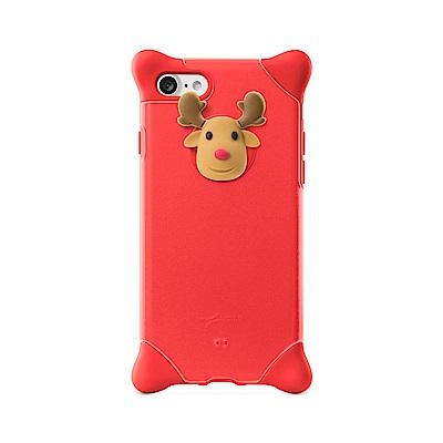 【BONE】IPhone XS 泡泡保護套-麋鹿先生