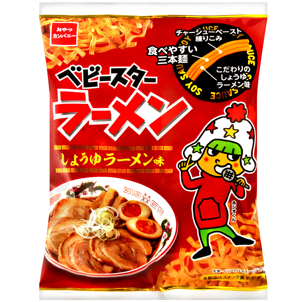 OYATSU優雅食 點心餅乾[醬油拉麵風味](60g)