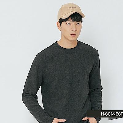 H:CONNECT 韓國品牌 -質感繡字棒球帽-黃