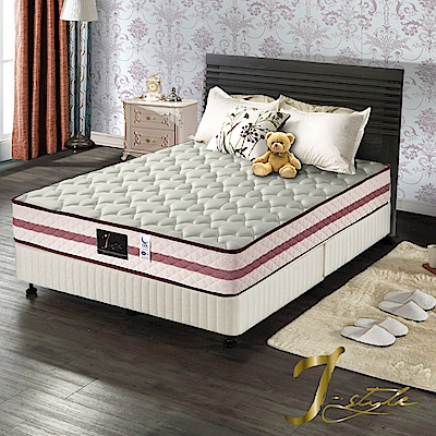 J-style婕絲黛 頂級飯店款3M防潑水蜂巢式獨立筒床墊 單人加大3.5x6.2尺