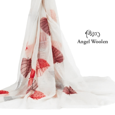 【ANGEL WOOLEN】扶桑印度胎羊毛手工披肩(共兩色)