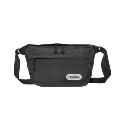 【OUTDOOR】側背包-黑色 OD291132BK