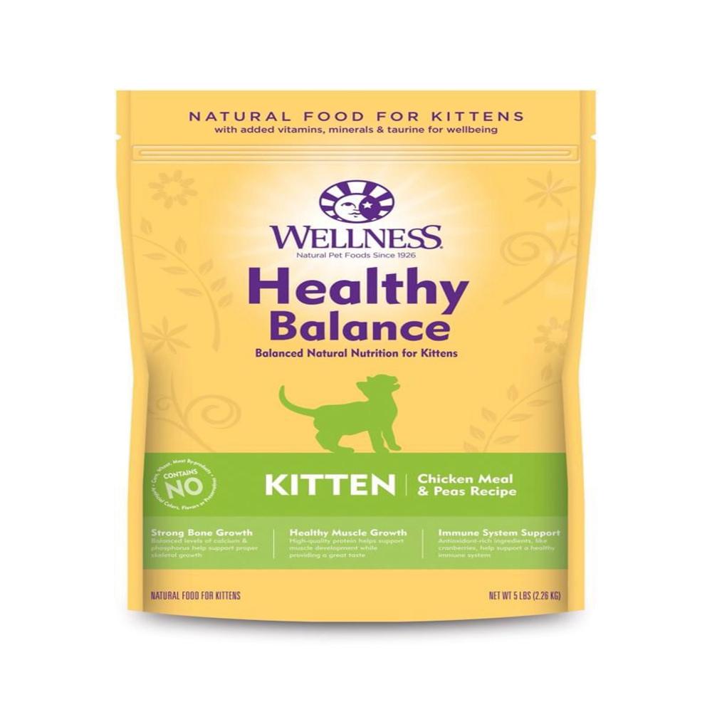 【加碼贈送抓板】Wellness 健康均衡 幼貓 聰明照護食譜 12磅