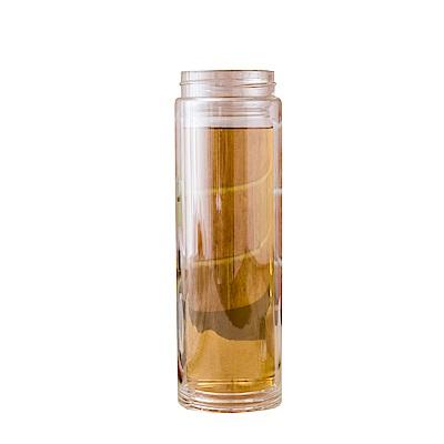 FL生活+ 多功能防爆雙層耐熱玻璃隨行保溫杯420ml