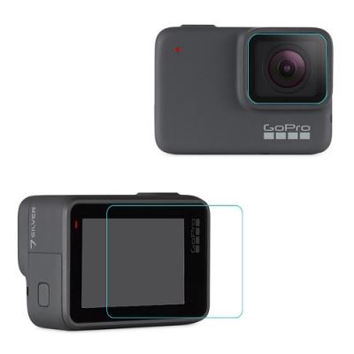 Qii GoPro HERO 7 Silver/White 玻璃貼(鏡頭+螢幕)