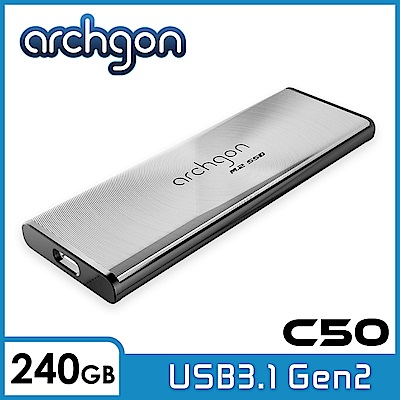 Archgon C501K 240GB 外接式固態硬碟 USB3.1 Gen2 -水波風