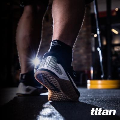【titan】太肯 3雙健身訓練襪_黑色