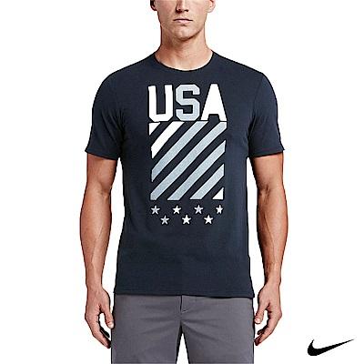 Nike Golf 運動短袖上衣TEE 深藍 811273-475