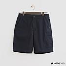 Hang Ten - 男裝 - ThermoContro-素面口袋休閒短褲 - 藍