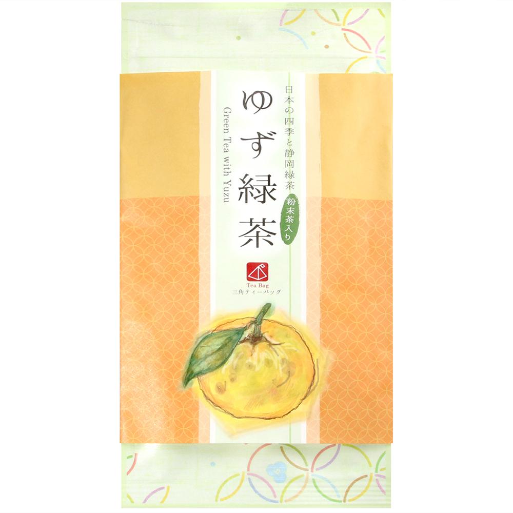 KANESU 和風綠茶-柚子風味(24g)