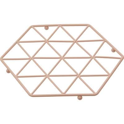 《Premier》Vertex六角金屬隔熱墊(粉)