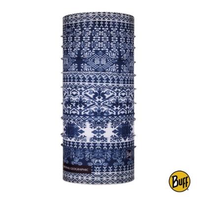 【西班牙BUFF】國家地理-經典頭巾 Plus-青花瓷