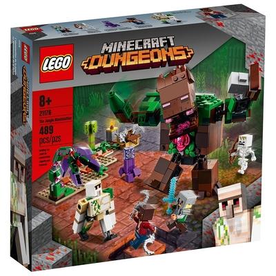 樂高LEGO Minecraft系列 - LT21176 The Jungle Abomination
