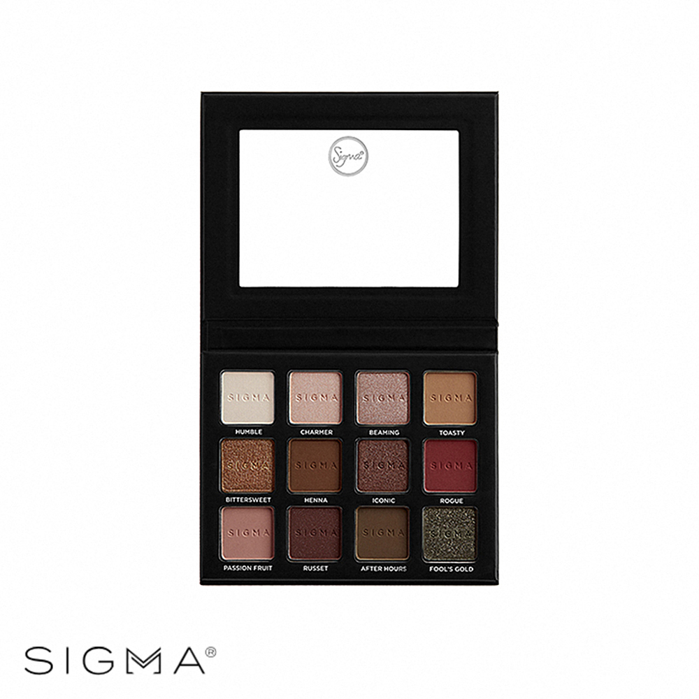 Sigma 12色暖色系眼影盤 13.23g Warm Neutrals Volume 2