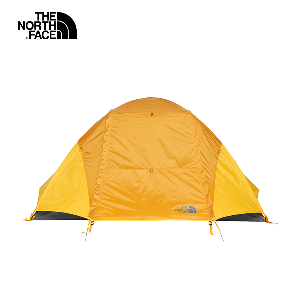 The North Face北面男女款橙灰色防風防水透氣兩人帳篷|3BYH3QM