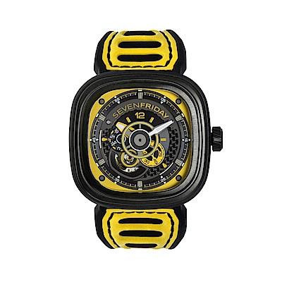 SEVENFRIDAY P3B-03 潮流新興瑞士機械腕錶