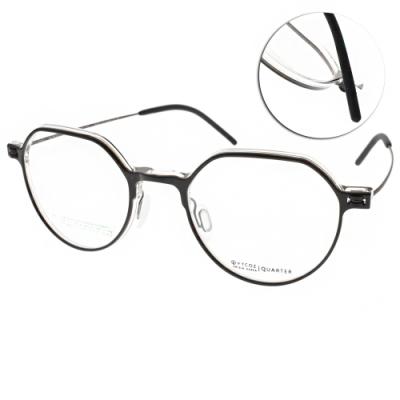 VYCOZ光學眼鏡 復古多邊造型款/深棕-霧棕#QUARTER BRN