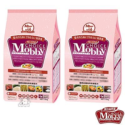 Mobby 莫比 羊肉+米 大型幼母犬配方飼料 3公斤 X 2包