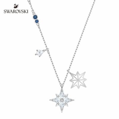 施華洛世奇 Symbol 白金色耀眼星辰項鏈