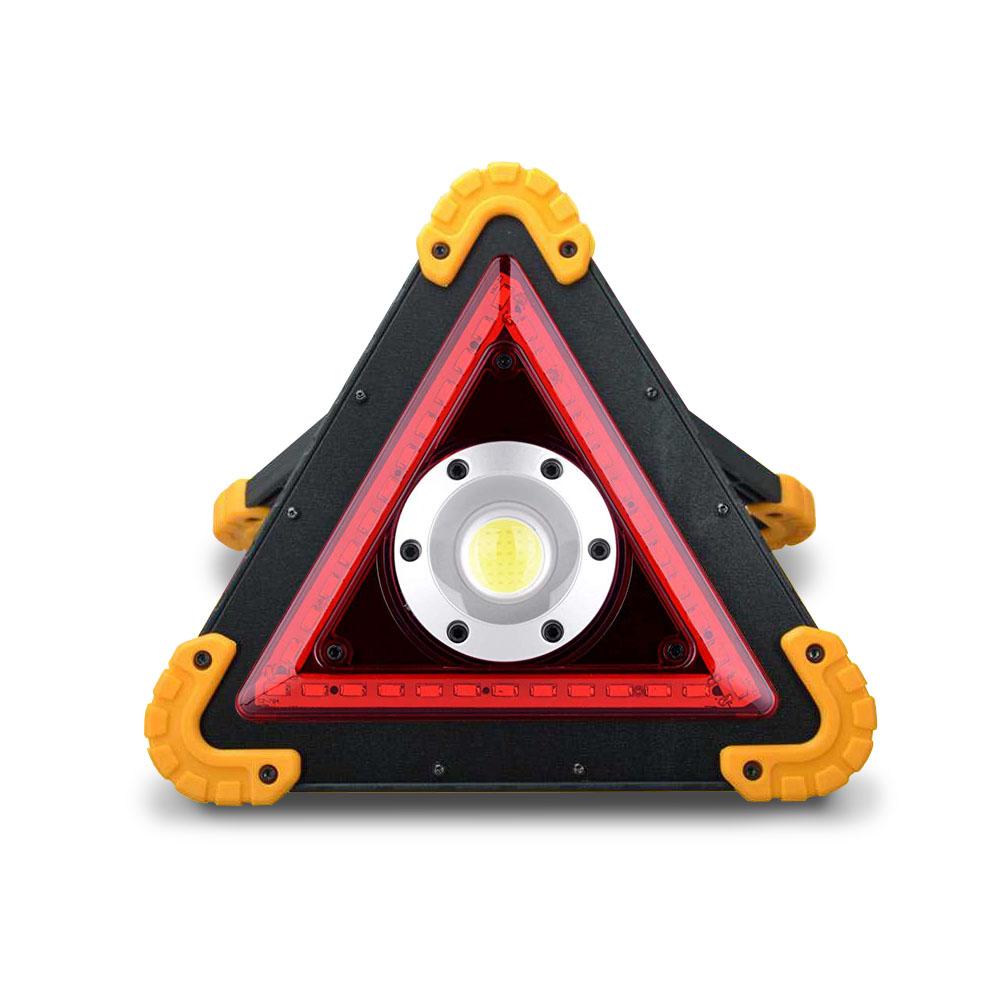 多功能照明LED三角警示燈(工作燈/故障燈/探照燈/維修燈)