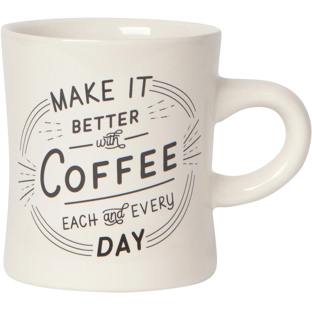 《NOW》曲線馬克杯(咖啡絕配355ml)