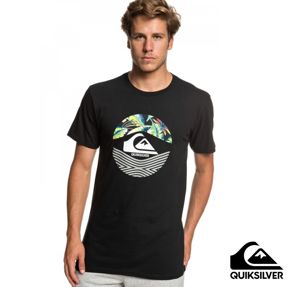 【QUIKSILVER】STOMPED ON  MT0 T恤 黑