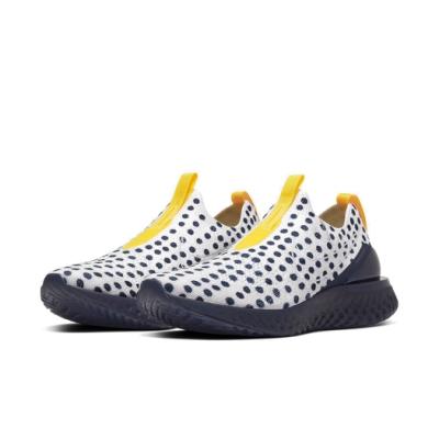 Nike 慢跑鞋 Phantom React 運動 男鞋 襪套 避震 包覆 點點 路跑 球鞋 穿搭 白 藍 CI1718001