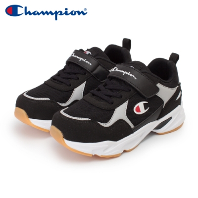 【Champion】COLOR DARTS 運動鞋 中童-黑/灰(KFUS-0388-12)
