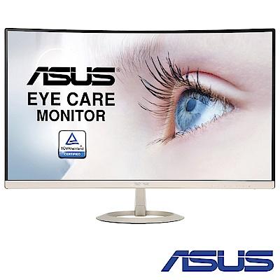 ASUS VZ 27 VQ  27 型 超薄無邊框曲面電腦螢幕