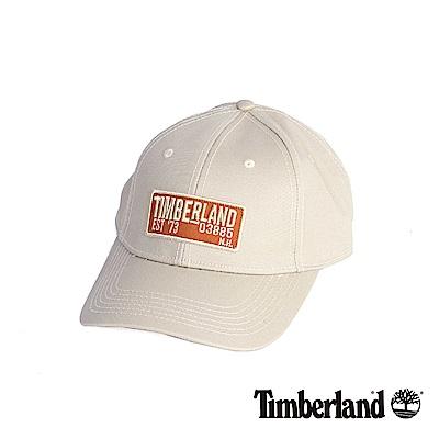 Timberland 卡其色刺繡斜織布棒球帽