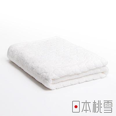日本桃雪 今治雪球浴巾(皓白色)