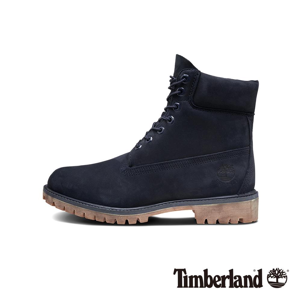Timberland 男款寶藍色休閒防水6吋靴|A1TSZ @ Y!購物