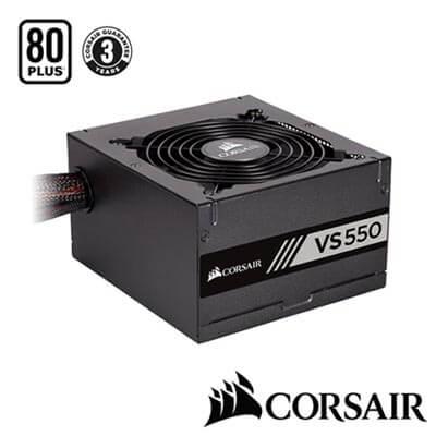 CORSAIR海盜船 VS Series? VS550 80Plus白牌 電源供應器