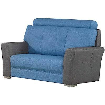 綠活居 莫巴提時尚耐磨貓抓皮革二人座沙發椅-146x91x97cm免組