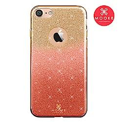 Mooke iPhone 7/8 璀璨琉璃保護殼-櫻花粉