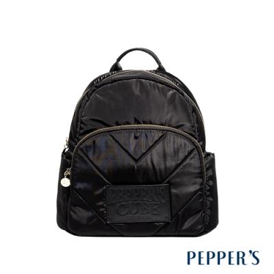PEPPER S Harper 尼龍後背包 - 煙燻黑