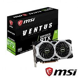 (無卡分期12期)MSI GeForce RTX 2060 VENTUS 6G OC顯示卡