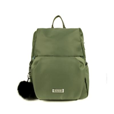 ANGIMI-SHOP-後背手提防潑水兩用包-法式貝兒-百搭綠