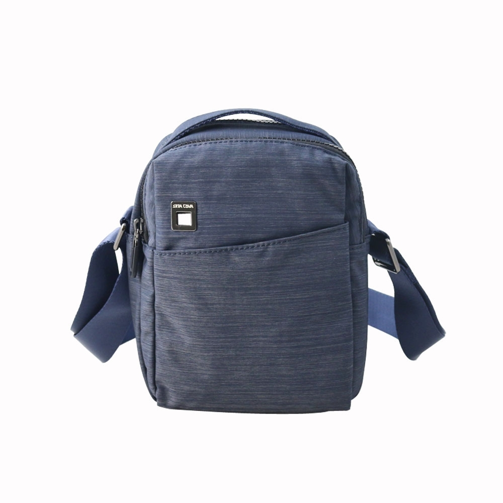 SINA COVA老船長織布斜背包-M78-13929-81H藍色