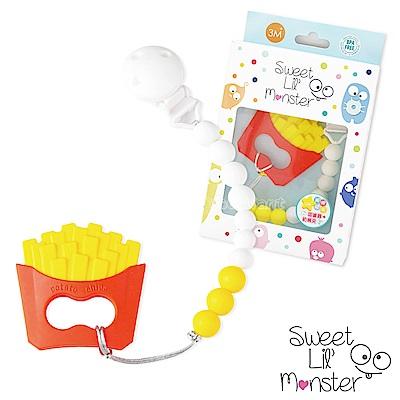 【Sweet Lil Monster】薯條固齒器/奶嘴鍊