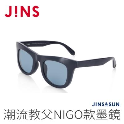 JINS&SUN 潮流教父NIGO款墨鏡(AMRF20A052)海軍藍
